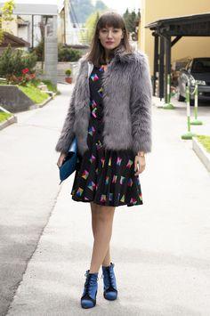 "my ""new"" vintage Louis Feraud dress"