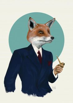 fox in a suit - Google Search