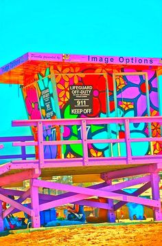 I wish our lifeguard towers in huntington looked like this!