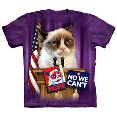 Grumpy for President Politicat T-Shirt