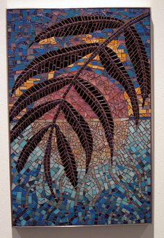Mosaic Art Exhibit – Sum of All Parts 2 – Bath House Cultural Center – Dallas, Texas Mosaic Diy, Mosaic Crafts, Mosaic Projects, Mosaic Tiles, Mosaic Pictures, Mosaic Flowers, Cultural Center, Iris Flowers, Mural Painting