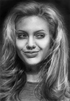 Angelina Jolie by vikygrafikk on DeviantArt
