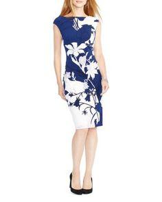 Lauren Ralph Lauren Floral Print Dress | Bloomingdale\u0027s