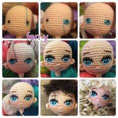 Mesmerizing Crochet an Amigurumi Rabbit Ideas. Lovely Crochet an Amigurumi Rabbit Ideas. Crochet Amigurumi, Crochet Doll Pattern, Amigurumi Doll, Amigurumi Patterns, Doll Patterns, Crochet Patterns, Crochet Eyes, Crochet Baby, Knit Crochet