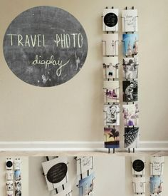 Postcard Racks - 20 Cleverly Creative Ways to Display Your Cherished Photos