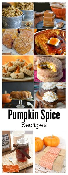 Pumpkin Spice Recipes - The Idea Room