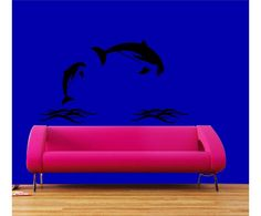 #Dolphins #wall #sticker by #meSleep only on http://www.makenlive.com/products/9463/walls-and-paints/wall-stickers/Dolphins  #art #design #happy #dolphin #fun #decor #DIY #easy #interior