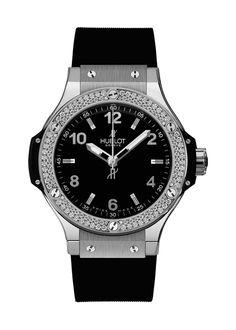 Big Bang Steel Diamonds 38mm Quartz watch from Hublot