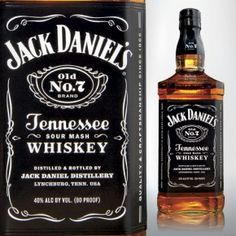 Jack Daniel's Tennessee Whiskey (Old No. 7), $29 for 1 L bottle at Brooklyn Liquors
