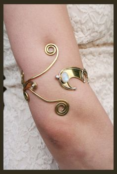 Anunit Goddess Of The Moon Armlet by Moonalia on Etsy, €80.00