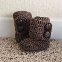 Storenvy: The Classic Boot CROCHET PATTERN http://hookedboutique.storenvy.com/products/1147772-the-classic-boot-pattern #Boots #Baby #Crochet #Pattern $5.95