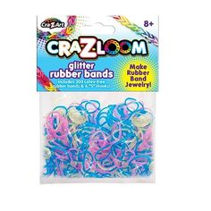 "Cra-Z-Loom 200 Count Glitter Rubber Bands -  CRA-Z-ART - Toys""R""Us"