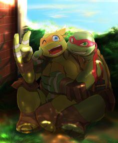 I wish this could happen in an Episode Ninja Turtles Art, Teenage Mutant Ninja Turtles, Tmnt Mikey, Tmnt Girls, Dragon Ball, Tmnt 2012, Girl Meets World, Fan Art, Nostalgia