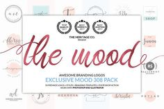 The MOOD 308 Branding Kit BUNDLE by The Heritage Co. on @creativemarket