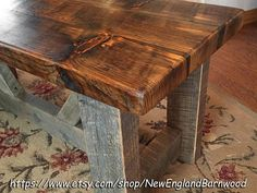 Come in and take off those muddy boots on your Handcrafted Country Cottage Bench. The SOLID AND STURDY construction features a full 2 inch thick x 16 inch deep seat. THIS BENCH IS FOR LOCAL PICKUP ONLY!!! THIS BENCH IS FOR LOCAL PICKUP ONLY!!! The rustic sawmill finish will make this bench a cherished and often used addition to your Country Home Decor. Hand-Crafted from a mix 100% Pine reclaimed and roughtcut sawmill lumber, made to last for generations!!! Bench seat is finished using a…