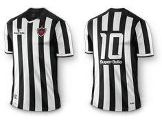 Camisa do Botafogo-PB 2015 Super Bolla Titular