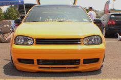 Waterfest 19 VW Golf Mk4 - Yellow Car