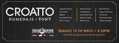 Croatto: Homenaje a Tony @ Centro de Bellas Artes, Caguas #sondeaquipr #tonycroatto #cba #caguas #diadelasmadres