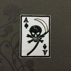 Ace of Spades Embroidered patch Iron on patch Punk patches iron on patches note patch Patches Rock embroidered patches band patches Iron on patches punk patches music patches rock band patches embroidered patch iron on patch note patch Ace patch Ace of Spades 2.29 USD #patches #iron on patches