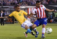 Paraguay 2-2 Brazil: Alves nets last-gasp equalizer in dramatic draw