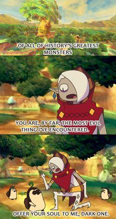 Adventure Time - Legend of Zelda Skyward Sword cross over - Ghirahim. NO KIKWI!!!!!!!!!!!!!!