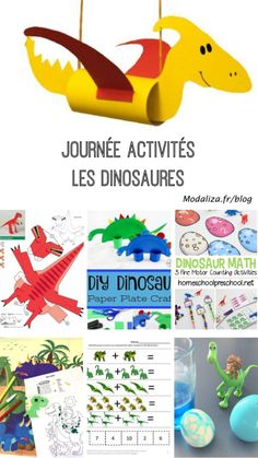 Counting Activities, Vocabulary Activities, Preschool Crafts, Crafts For Kids, Diy Crafts, Paper Plate Animals, Daycare Curriculum, Pop Toys, Dinosaur Crafts