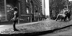 Why McCann Dropped a Statue of a 'Fearless Girl' Next to Wall Street's Charging Bull Overnight – Adweek
