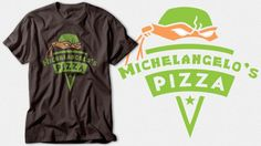 Michelangelo's Pizza by SnoMad_Designs