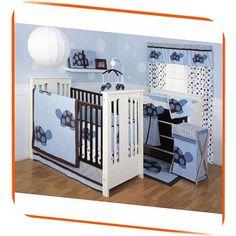 baby turtle bedroom sets   Baby Boy : Kids Line Mod Turtle 4 Piece Crib Bedding Set