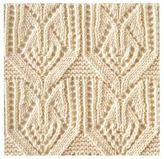 Japanese Lace Knitting Pattern. More Great Patterns Like This