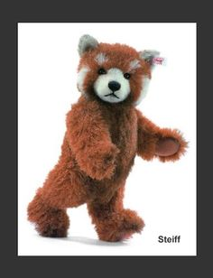 Red Panda Collectors Teddy Bear from Steiff
