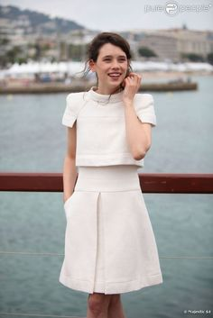 Astrid Berges-Frisbey at Cannes 2011 #chanel