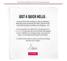 retention emails example - Google Search