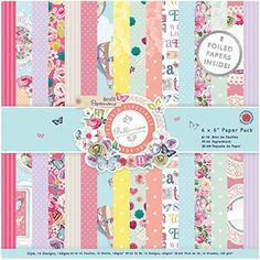 docrafts Papermania Paper Pack 6 by 6 3 Bellissima ** You can get more details by clicking on the image.Note:It is affiliate link to Amazon. #sf