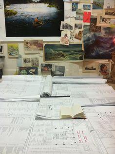 chad attie's study for The Sea