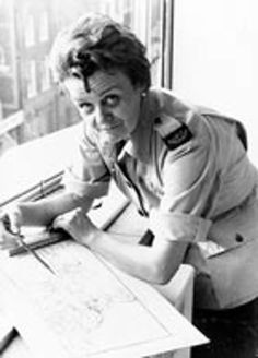Clare Hollingsworth, British war correspondent. Image from https://i.guim.co.uk/img/static/sys-images/Guardian/About/General/2011/10/10/1318268191741/Claire-Hollingworth-in-19-001.jpg?w=620&q=85&auto=format&sharp=10&s=46dd59b511568a6b3765c98432870de7.