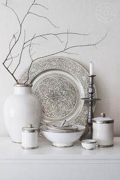 Moroccan Pottery, Neuf Novembre   Ceramika marokańska houseofideas.de                                                                                                                                                     More