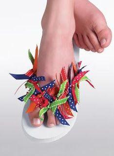 decorate flip flop ideas  gettogetherideas.com