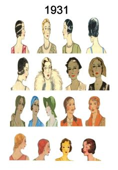 Hairstyles and hat fashion history. Fashionable hat and hair styles from Hat Hairstyles, Vintage Hairstyles, Trendy Hairstyles, Pictures Of Hats, Fashion Pictures, Short Blonde Bobs, Rockabilly Hair, Colored Highlights, Bad Hair