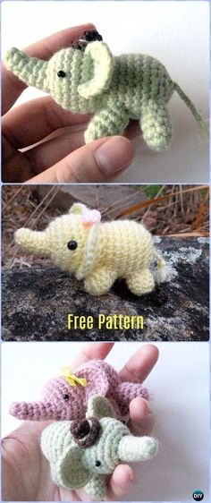 Crochet Percy The Elephant Amigurumi Free Pattern - Crochet Elephant Free Patterns