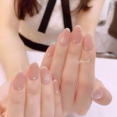 This domain may be for sale! Korean Nail Art, Korean Nails, Trendy Nails, Cute Nails, Short Gel Nails, Kawaii Nails, Bride Nails, Wedding Nails Design, Healthy Nails