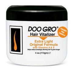 Doo Gro Extra Light Original Formula Hair Vitalizer 4 oz