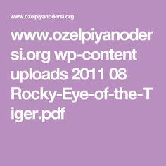 www.ozelpiyanodersi.org wp-content uploads 2011 08 Rocky-Eye-of-the-Tiger.pdf