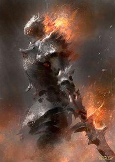 Ash Knight 2 by Mac-tire.deviantart.com on @DeviantArt