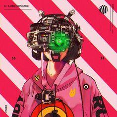Cyberpunk Carnival X (by mulo) Cyberpunk 2077, Cyberpunk Kunst, Cyberpunk Anime, Cyberpunk Fashion, Cyberpunk Tattoo, Character Inspiration, Character Art, Character Design, Character Concept