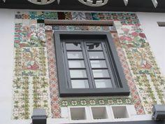 Art Nouveau Tiles at Wanderlust Hotel, Singapore