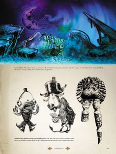 Concept art for the cutscenes of the game.