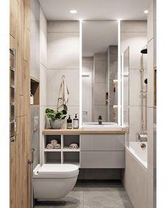 Stunning Simplicity: Creating A Minimalist Bathroom Bathroom Design Luxury, Modern Bathroom Decor, Bathroom Design Small, Bathroom Vanity Makeover, Interior Minimalista, Toilet Design, Minimalist Bathroom, Bathroom Renovations, House Rooms