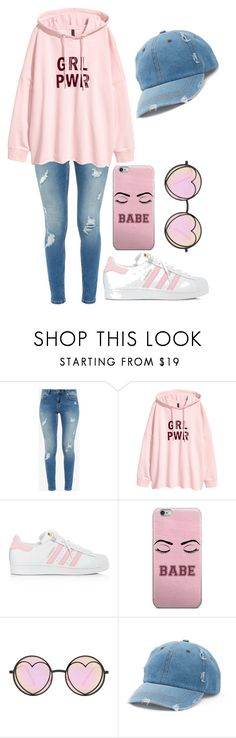 """""""Untitled #17"""" by leikas ❤ liked on Polyvore featuring Ted Baker, adidas, Betsey Johnson and Mudd"""