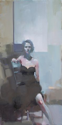 Sitting in Light, by Michael Carson  I love the mood of this piece.